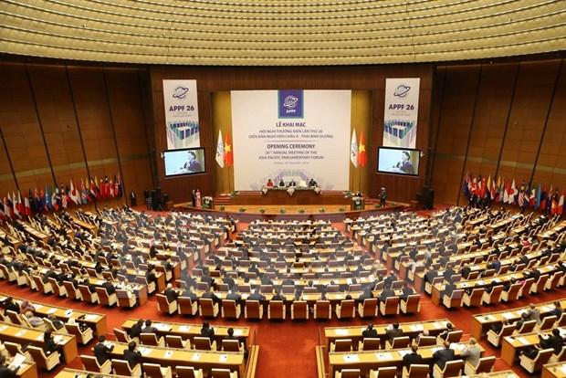 Vietnam fomenta nexos parlamentarios con Canada y Marruecos hinh anh 1