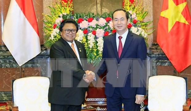 Vietnam e Indonesia acuerdan fortalecer cooperacion en ASEAN hinh anh 1
