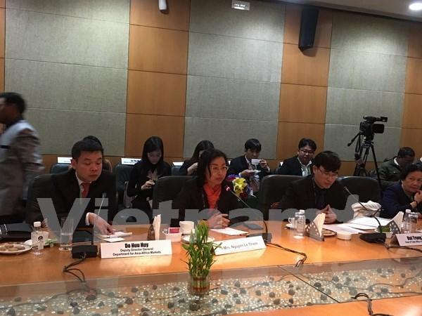 Vietnam y la India buscan impulsar cooperacion en agricultura y procesamiento de alimentos hinh anh 1