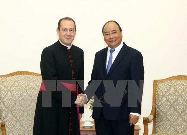 Promueven relaciones entre Vietnam y la Santa Sede hinh anh 1