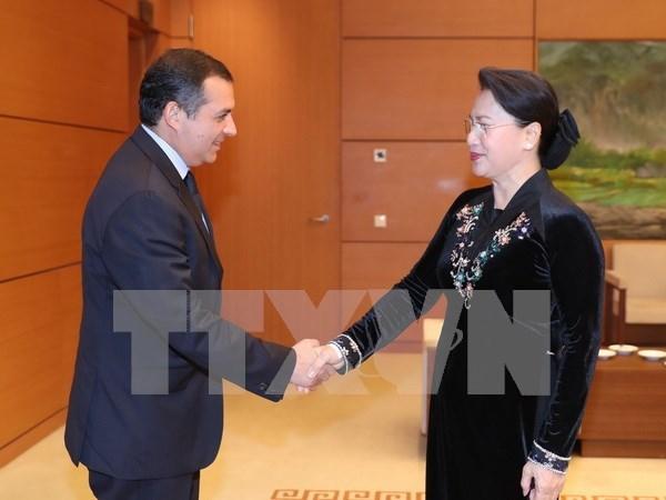 Parlamentos de Vietnam y Mexico fomentan cooperacion hinh anh 1