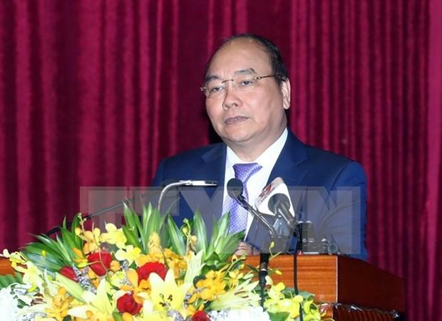 Premier vietnamita orienta crecimiento socioeconomico de Phu Yen hinh anh 1