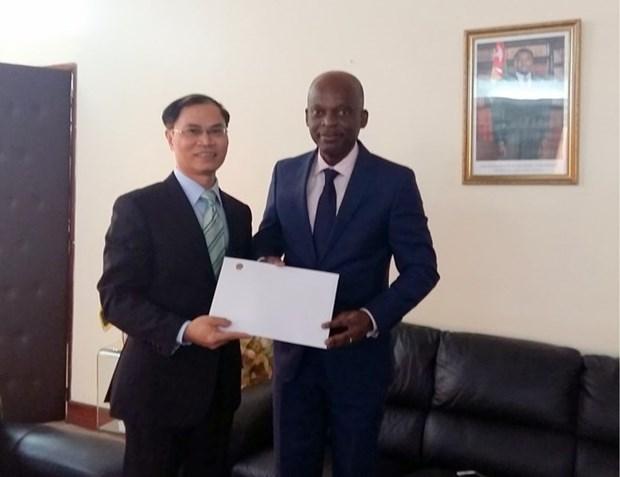 Togo desea robustecer lazos con Vietnam en foros internacionales hinh anh 1