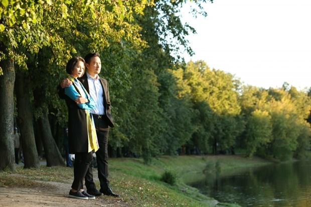 Debutara en la pantalla serie televisiva sobre la vida de estudiantes vietnamitas en Rusia hinh anh 1