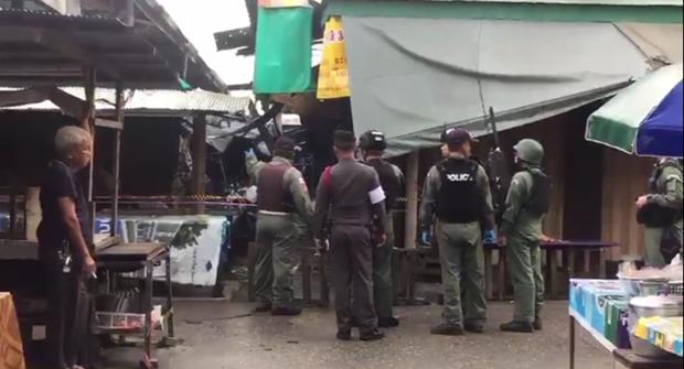 Tailandia: Tres fallecidos y 19 heridos por explosion de bomba hinh anh 1