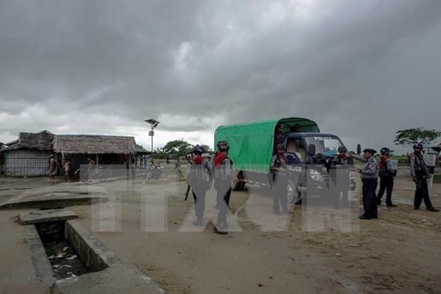 Myanmar estrecha medidas de control de seguridad en estado de Rakhine hinh anh 1