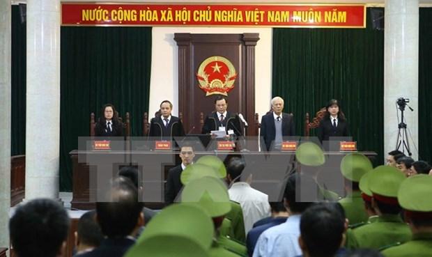 Aplican penas drasticas a acusados en el caso de PVN hinh anh 1