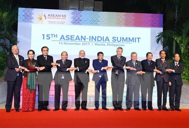 Muestra Vietnam su papel activo como coordinar de relaciones ASEAN- India hinh anh 1