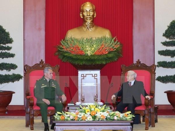 Vietnam apoya un mayor papel de Rusia en Asia-Pacifico hinh anh 1
