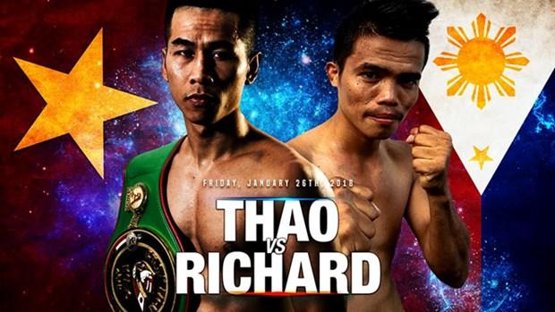 Boxeador vietnamita Tran Van Thao luchara contra rival filipino hinh anh 1