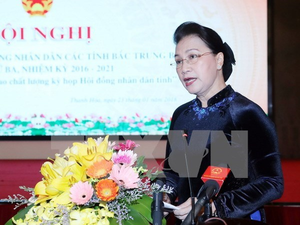 Buscan en Vietnam aumentar calidad de trabajo de los Consejos Populares locales hinh anh 1