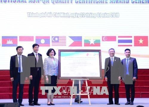 Segunda universidad vietnamita logra estandares de Sudeste de Asia hinh anh 1