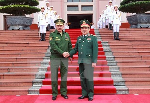 Rusia reafirma cooperacion estrategica con Vietnam hinh anh 1