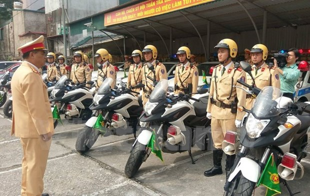 Hanoi intensifica control de orden social y seguridad durante Ano Nuevo Lunar hinh anh 1