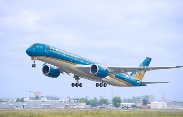 Vietnam Airlines planea mas vuelos a China para finales del Campeonato Asiatico de Futbol hinh anh 1