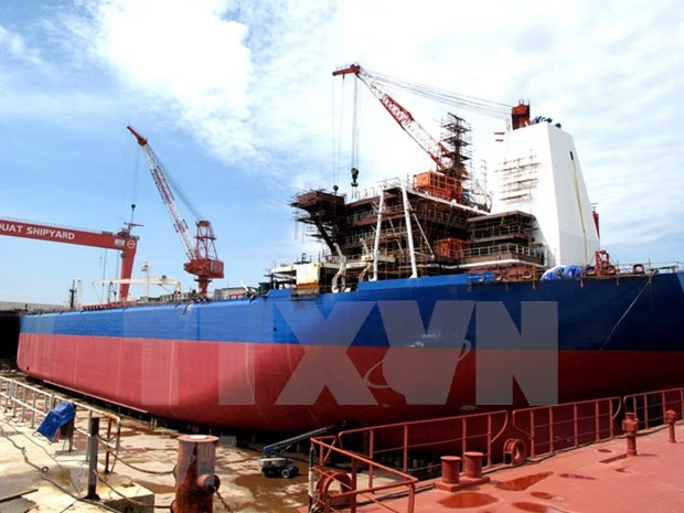 Inauguran en Hanoi exposicion internacional de industria naval hinh anh 1