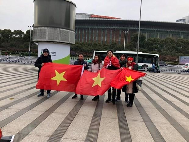 Cancilleria de Vietnam insta a China a crear condiciones para fanaticos futbolisticos vietnamitas hinh anh 1