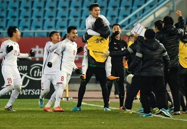Seleccion sub-23 de Vietnam recibe valiosos regalos por su historico triunfo hinh anh 1