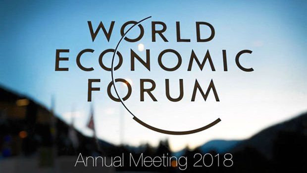Vicepremier vietnamita asiste a reunion anual del Foro Economico Mundial hinh anh 1