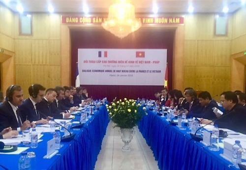 Vietnam y Francia mantienen dialogo economico de alto nivel hinh anh 1