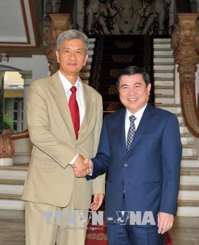 Ciudad Ho Chi Minh impulsa cooperacion economica y comercial con localidades laosianas hinh anh 1