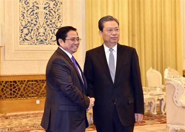 Alto funcionario chino subraya nexos con Partido Comunista de Vietnam hinh anh 1