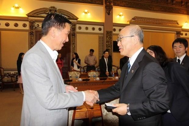 Ciudad Ho Chi Minh y prefectura japonesa de Miyagi impulsan cooperacion multifacetica hinh anh 1