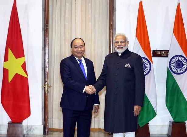 Vietnam e India fortalecen asociacion estrategica integral bilateral hinh anh 1