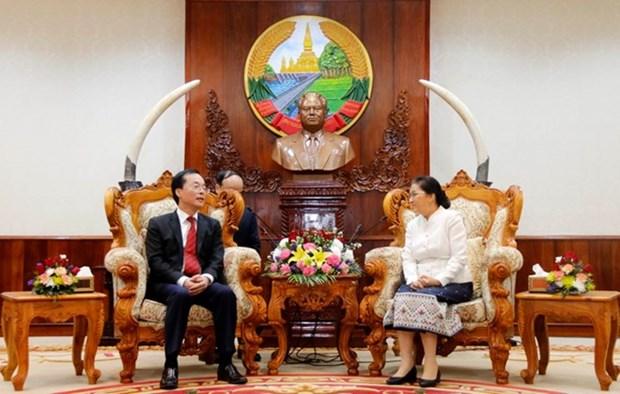 Vietnam se esforzara por construir nueva sede del Parlamento de Laos hinh anh 1
