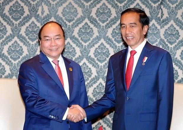  Vietnam busca agilizar lazos con Camboya e Indonesia hinh anh 1