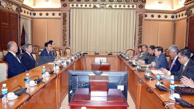 Japon dispuesto a respaldar a Ciudad Ho Chi Minh en proyectos de desarrollo hinh anh 1