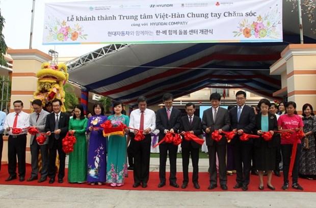 En funcionamiento centro de apoyo a mujeres vietnamitas casadas con sudcoreanos hinh anh 1