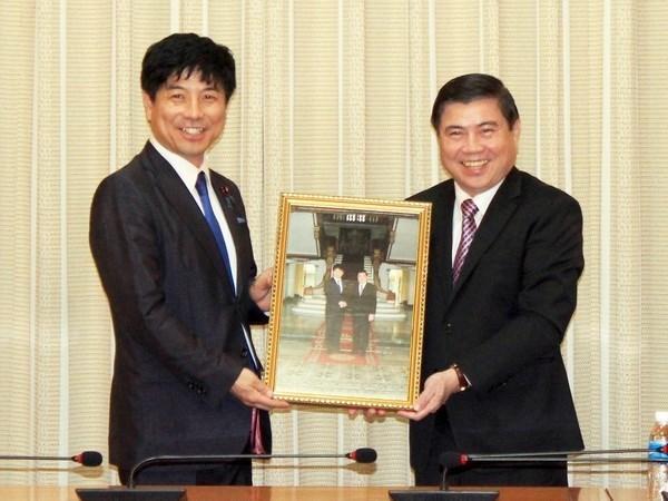 Ciudad Ho Chi Minh por fortalecer cooperacion con Japon hinh anh 1