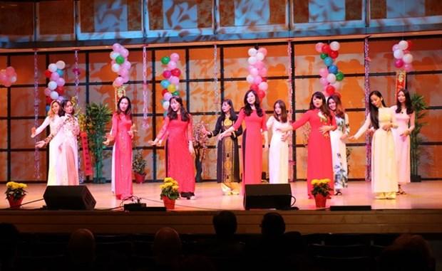 Vietnamitas en Canada saludan Ano Nuevo Lunar hinh anh 1