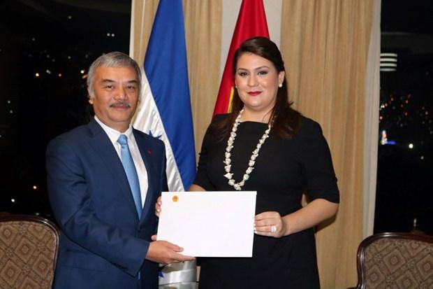 Presidente de Honduras desea impulsar relaciones con Vietnam hinh anh 2