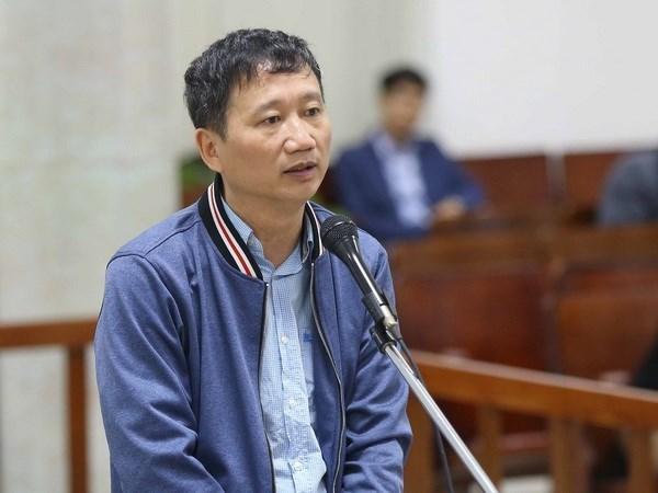 Tribunal interrumpe juicio contra Trinh Xuan Thanh para investigar nuevas declaraciones hinh anh 1