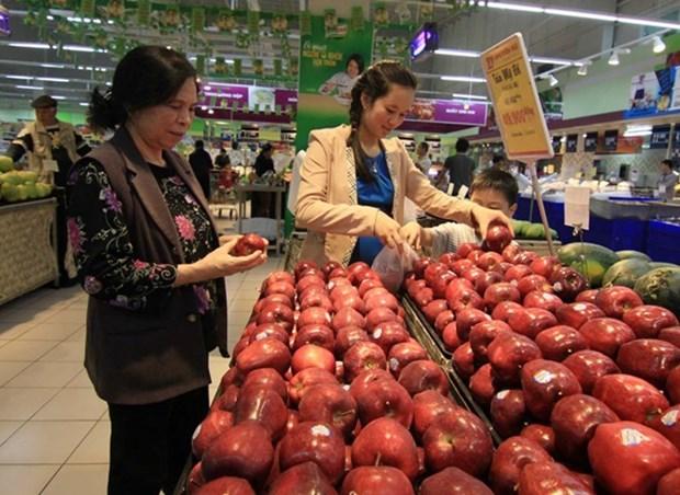 Reportan leve aumento del IPC de Hanoi en enero hinh anh 1