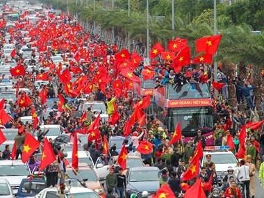 Campeonato Asiatico de futbol sub-23: Prensa japonesa destaca espiritu solidario de jugadores vietnamitas hinh anh 1