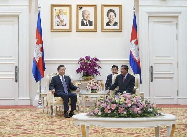 Vietnam y Camboya estrechan cooperacion en seguridad hinh anh 1