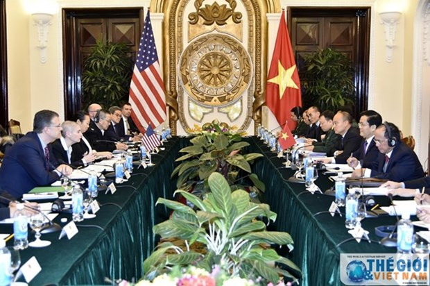 Vietnam y Estados Unidos efectuan dialogo de politica, seguridad y defensa hinh anh 1