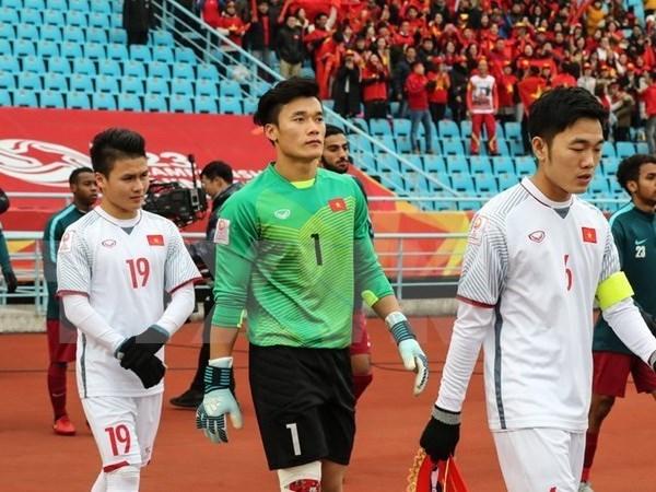 Futbolistas vietnamitas seleccionados como mejores jugadores del Campeonato Asiatico Sub- 23 hinh anh 1