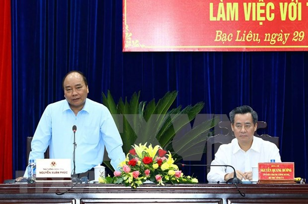 Premier vietnamita urge a provincia surena a centrarse en desarrollo verde hinh anh 1