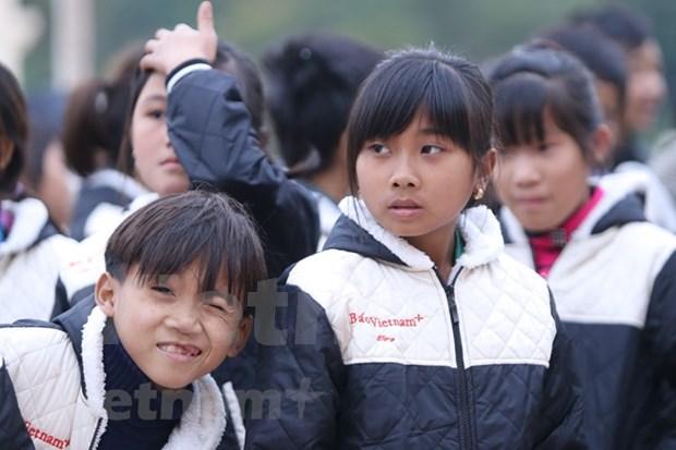 Organizacion sudcoreana brinda Tet a menores pobres vietnamitas hinh anh 1