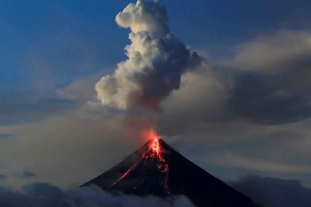 Filipinas enfrenta malas condiciones sanitarias a causa del volcan Mayon hinh anh 1