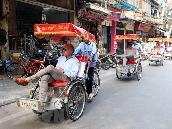 Vietnam recibe a mas de un millon 430 mil turistas extranjeros en enero hinh anh 1