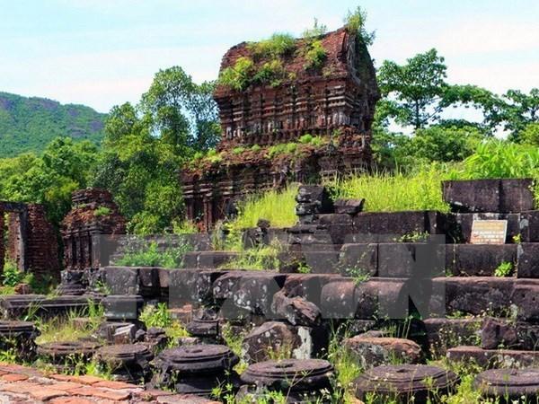 Digitalizan informaciones de objetos encontrados en zona de Patrimonio cultural mundial de My Son hinh anh 1