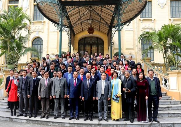 Vicepremier vietnamita destaca contribuciones de la prensa en 2017 hinh anh 1