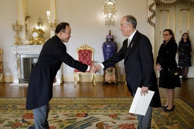 Embajador vietnamita reitera deseo de fomentar amistad con Portugal hinh anh 1