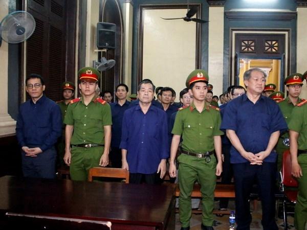 Pham Cong Danh contradice declaraciones del VNCB ante tribunal hinh anh 1