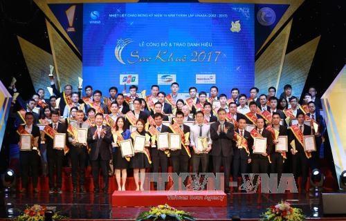 Vietnam lanza premio de tecnologia informatica Sao Khue 2018 hinh anh 1